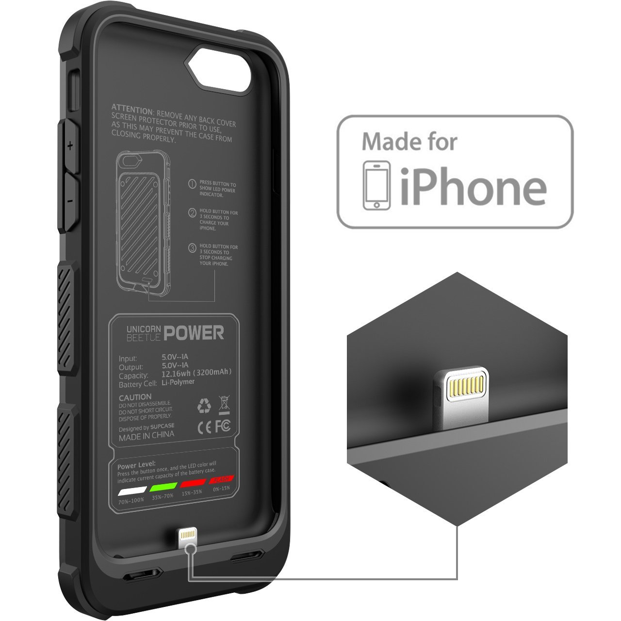 iphone 6 charger case apple
