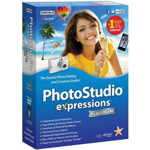 PhotoStudio Expressions Platinum 6 - Photo Editing, Individual Software, 018527109472