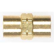 MILLER - WELDCRAFT 11N18 Water Coupler, Brass, 5/8 In. Dia.