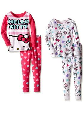 f0ab5f335 Product Image Komar Kids Girls' Hello Kitty 4 Piece Cotton Sets, Multi,  Size: 2T