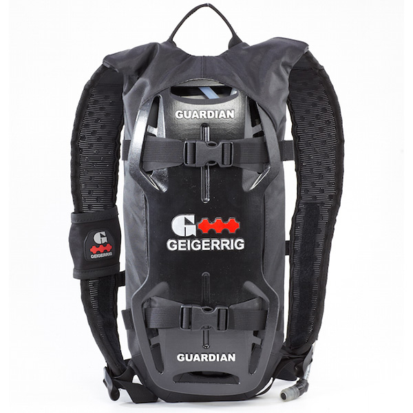 Geigerrig Rig Guardian Hydration Pack 70 oz. Grey Black by Gegerrig