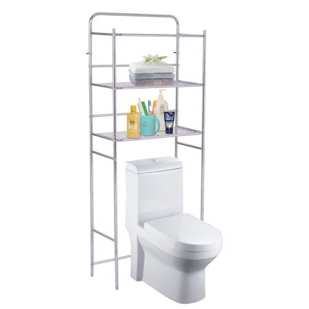 3 Tier Stand Storage Rack,Bathroom Shelves with Towel Storage Stand ...