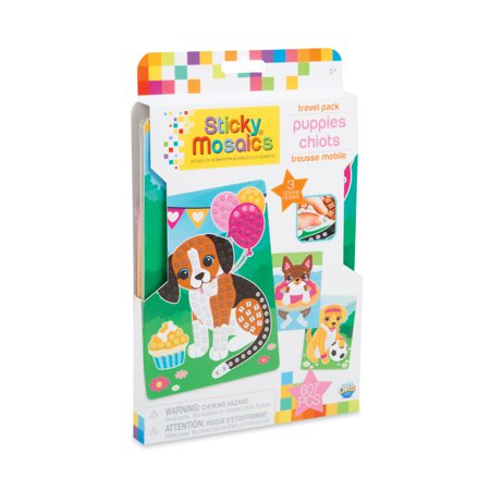 The Orb Factory Sticky Mosaics Puppies (Travel Pack)