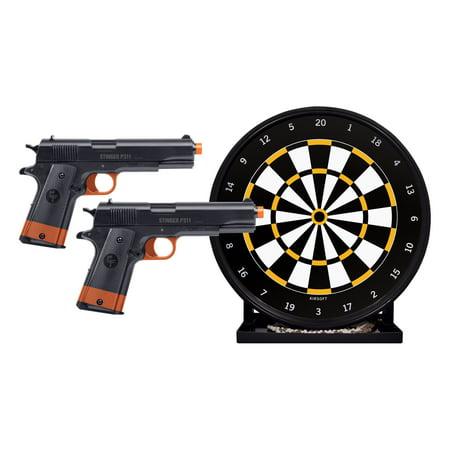 Ames Target (Crosman Airsoft Stinger Challenge Target Game Kit, California Compliant )