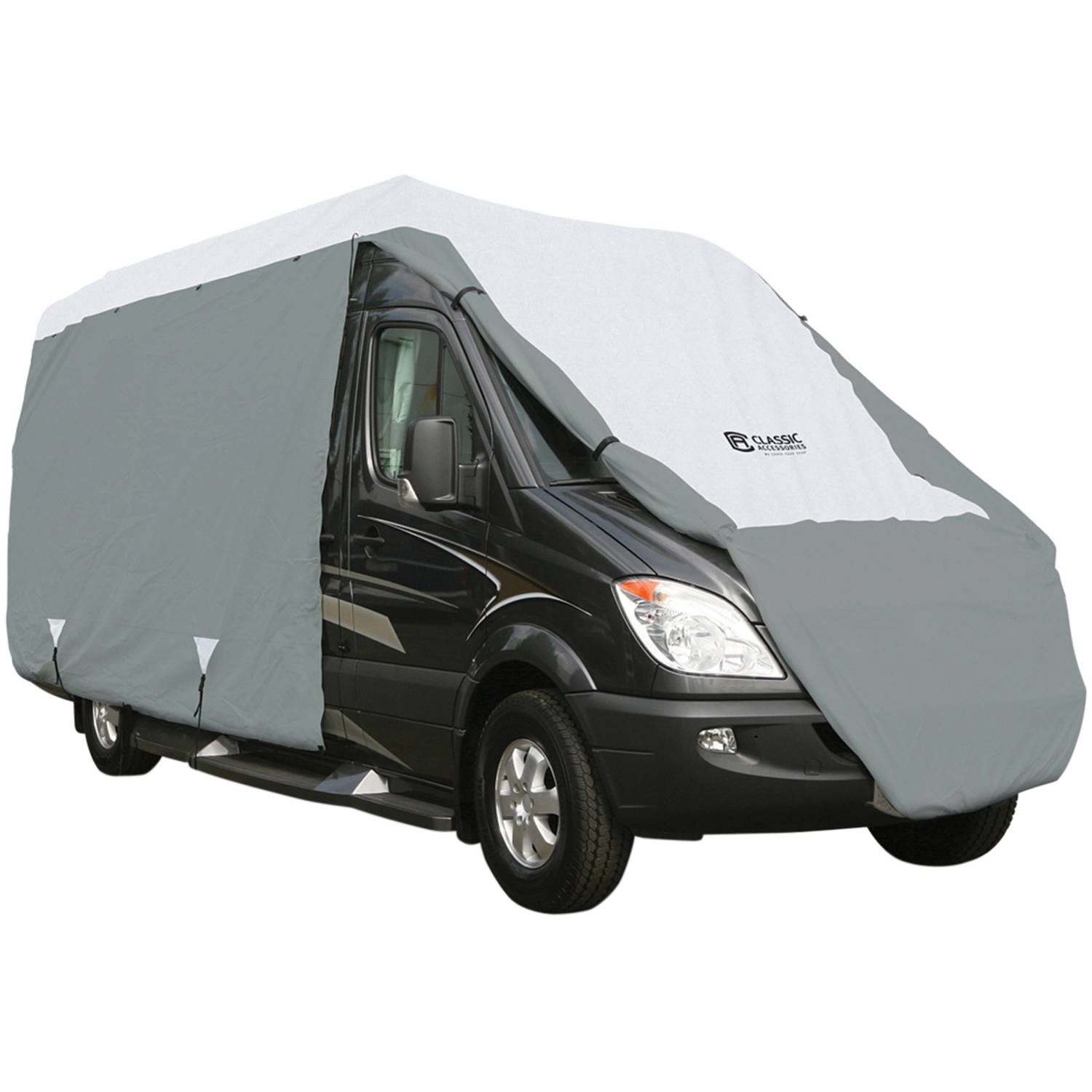 Classic Accessories PolyPro 3 RV Storage Cover, Gray/Snow White