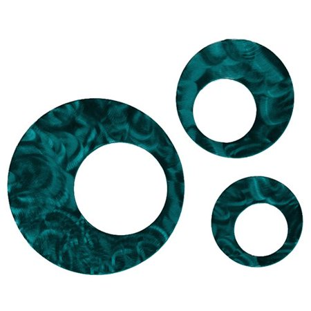 7055 Inc 3 Piece Circles Wall D cor Set