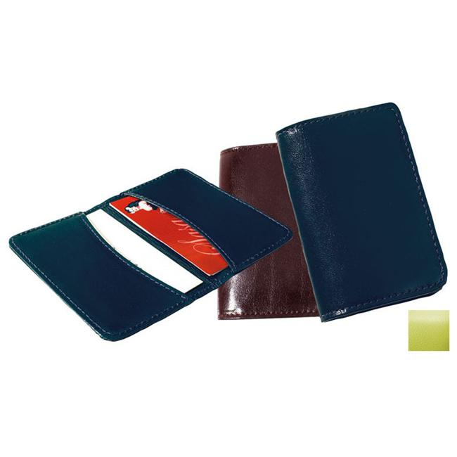 Raika RO 112 LIME Business Card Holder - Lime