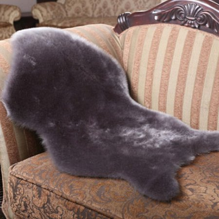 24 X 35 Soft Sheepskin Plain Fluffy