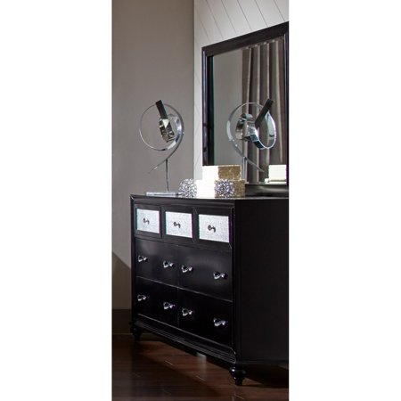 Coaster Company Barzini Bedroom Dresser, Black