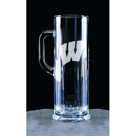 Wisconsin Badgers Deep Etched Micro Brew Mug