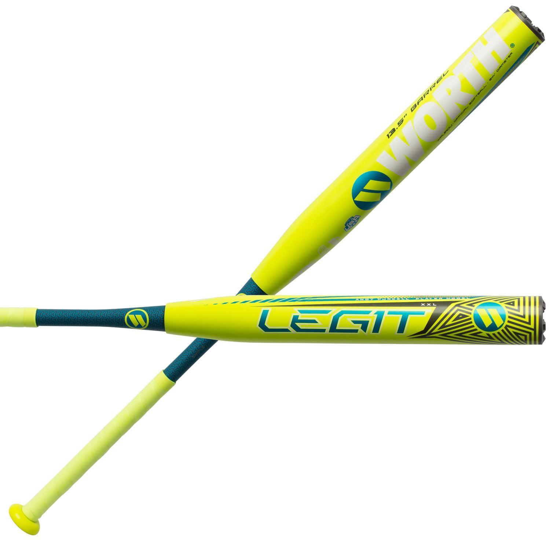 Worth Andy Purcell Legit XXL 13.5 Inch USSSA Slowpitch Softball Bat