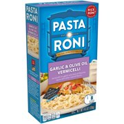 (8 Pack) Pasta Roni Garlic & Olive Oil Vermicelli, 4.6 oz. Box