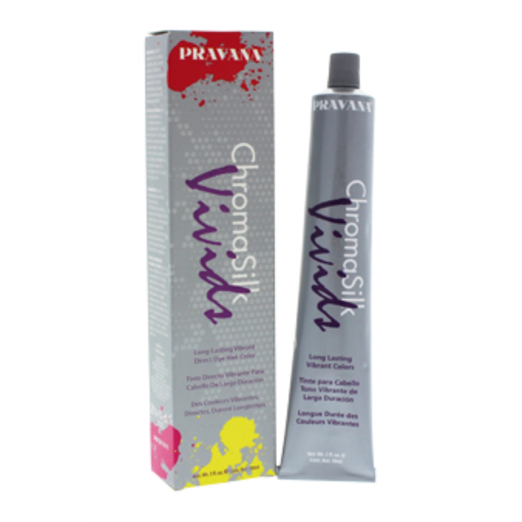 ChromaSilk Vivids Long-Lasting Vibrant Color - Green by Pravana for Unisex - 3 oz Hair Color - image 2 of 3