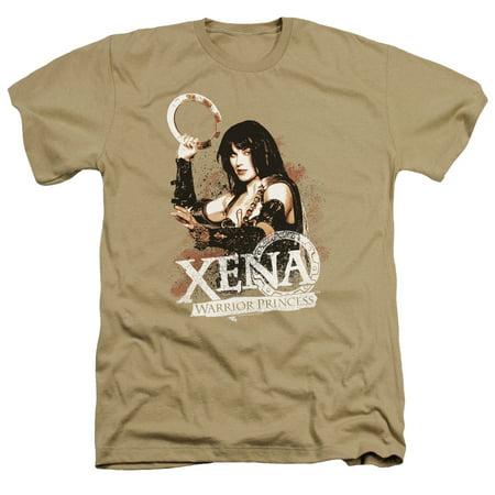 Xena Warrior Princess Princess Mens Heather Shirt - Xena Warrior Princess Outfit