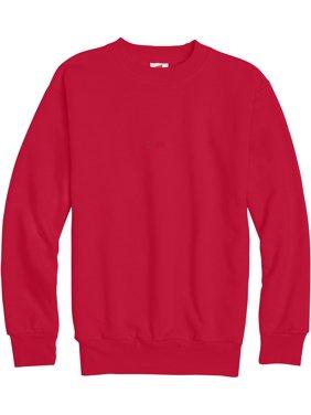 Hanes Boys Ecosmart Fleece Crew Neck Sweatshirt, Sizes 4-18