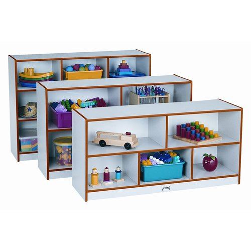 Jonti-Craft Low Single Storage Bookcase