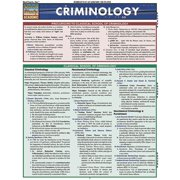 BarCharts 9781423214236 Criminology Quickstudy Easel