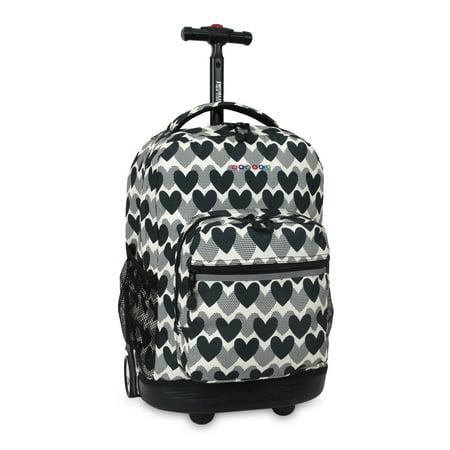 Single Pole Rolling Backpack - J World Sunrise Rolling Backpack