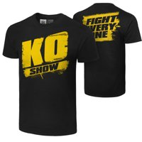 """Official WWE Authentic Kevin Owens """"KO Show""""  T-Shirt Black Small"""
