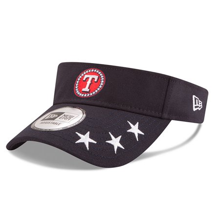 75b9081130928 Texas Rangers New Era 2018 MLB All-Star Workout Visor - Navy - OSFA -  Walmart.com