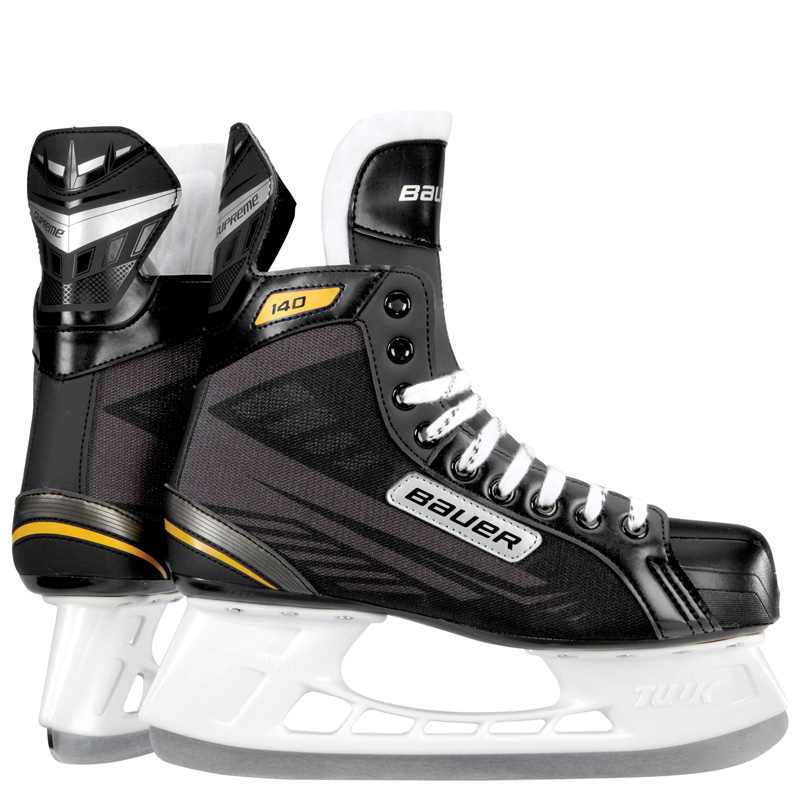 Bauer Supreme 140 Junior Hockey Skate, Size 4 by