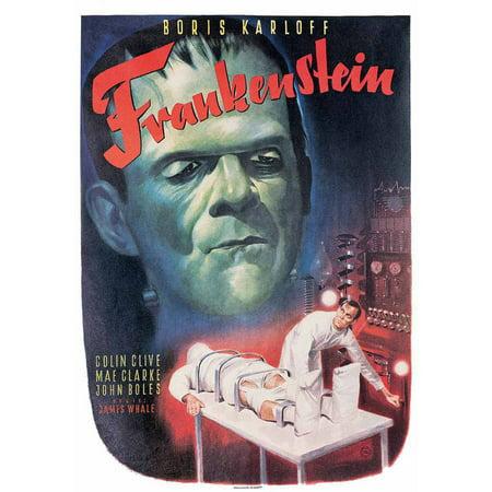 Frankenstein Vintage Advertising Art Print