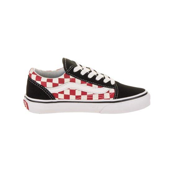 1eb01128e1bb Vans - Vans Kids Old Skool (Checkerboard) Skate Shoe - Walmart.com
