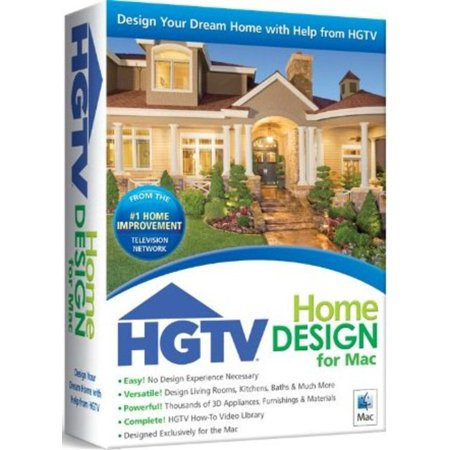 Nova 41007 HGTV Home Design for Mac - Walmart.com on silhouette design app, urban design app, hgtv property brothers kitchen designs, interior design app,