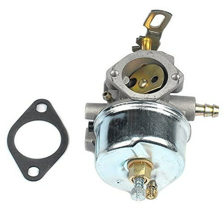 Tractor Mount Snowblower (Carburetor with Mounting Gasket for Tecumseh 632334A 632334 632111 HM70 HM80 HMSK80 HMSK90 Snow)