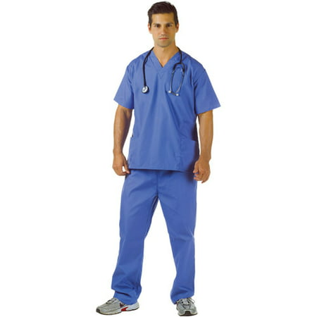 Blue Scrubs Adult Halloween Costume - Scrubs Costumes