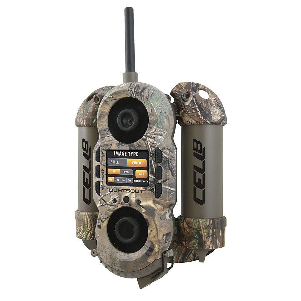 Wildgame Innovations Crush Cell 8 Trail, Real Tree Extra Digital Trail Camera