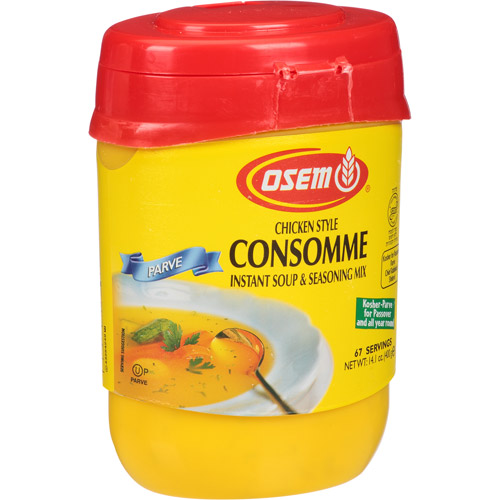 how to make granulated consomme