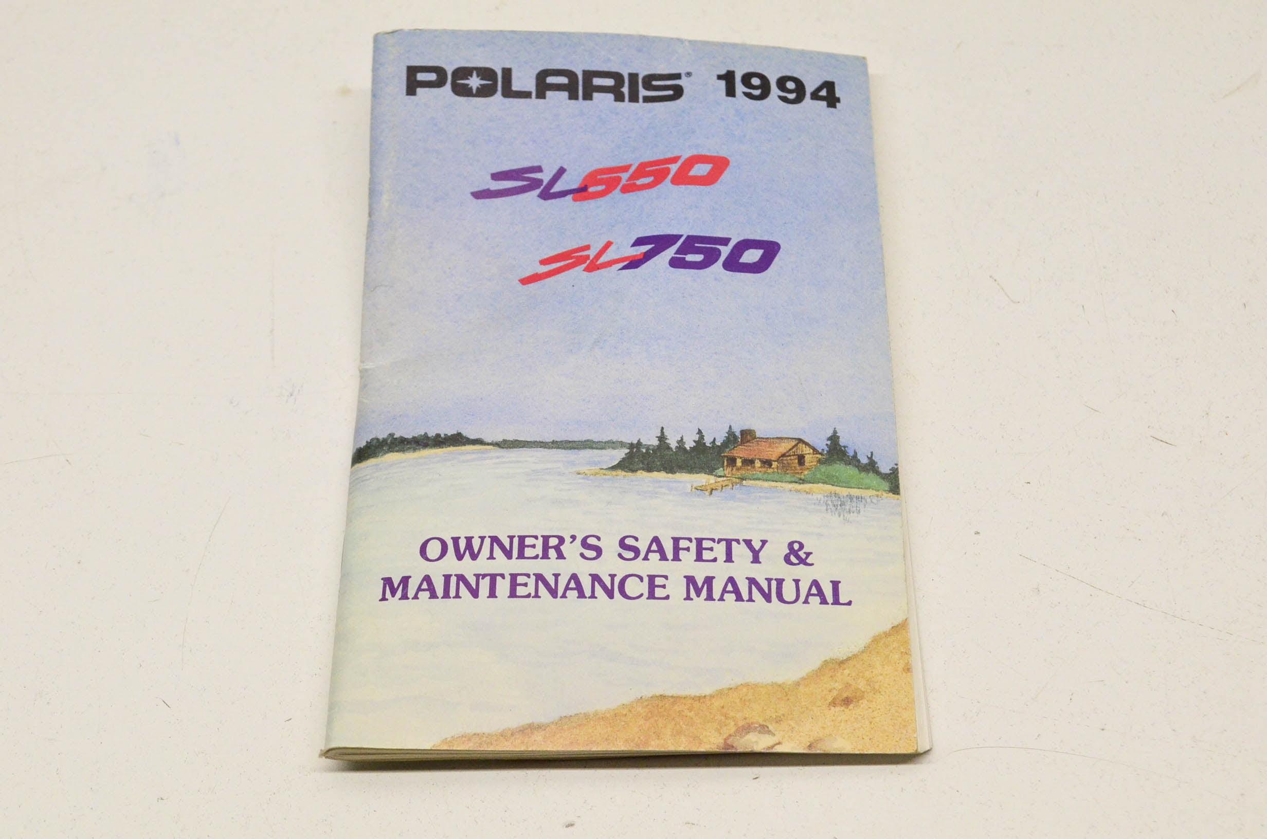 1994 polaris jet ski manual
