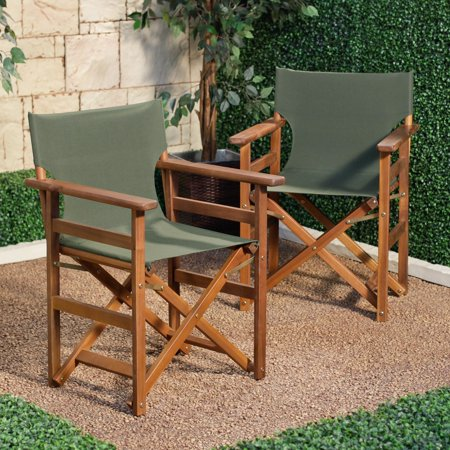 C Coast Outdoor Directors Chair Set Of 2
