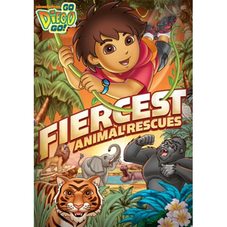 Go Diego Go Rescue Pack - Go Diego Go: Fiercest Animal Rescues (DVD)