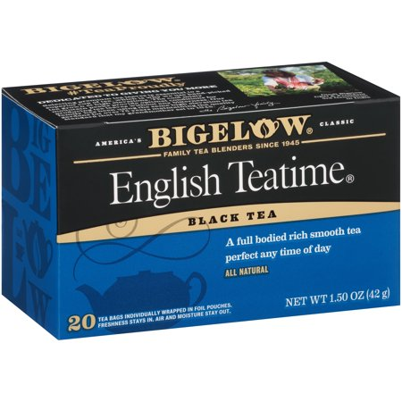 (3 Boxes) Bigelow English Teatime Blend Tea Bags,