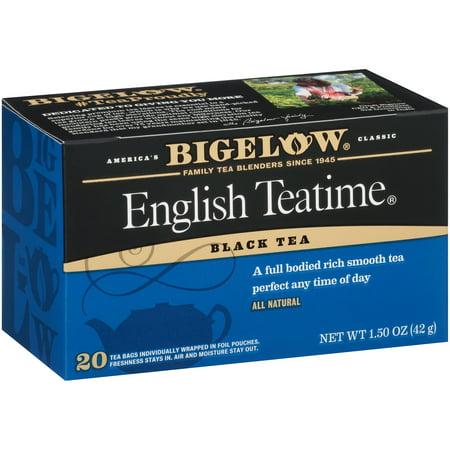 (3 Boxes) Bigelow English Teatime Blend Tea Bags, 20ct (Real English Tea)
