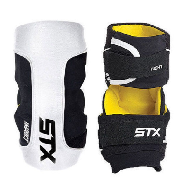 STX Lacrosse Impact White Arm Pad, Small
