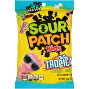 Sour Patch Kids, Tropical Soft and Chewy Candy, 8 Oz