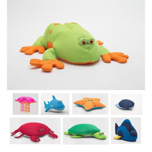 BeanSack Big Joe Kids Floating Pool Pets Frog