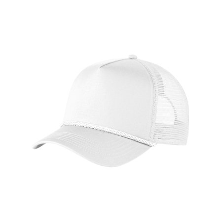 Port Authority 100% Cotton Mid Profile Structured 5 Panel Snapback (Mid Profile 6 Panel)