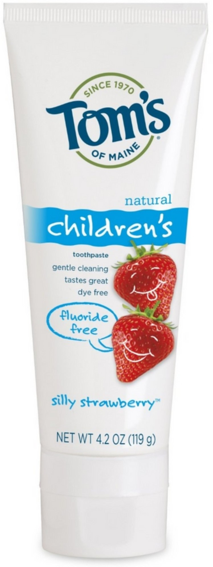 Toms of Maine Children Natural Fluoride Free Toothpaste Silly
