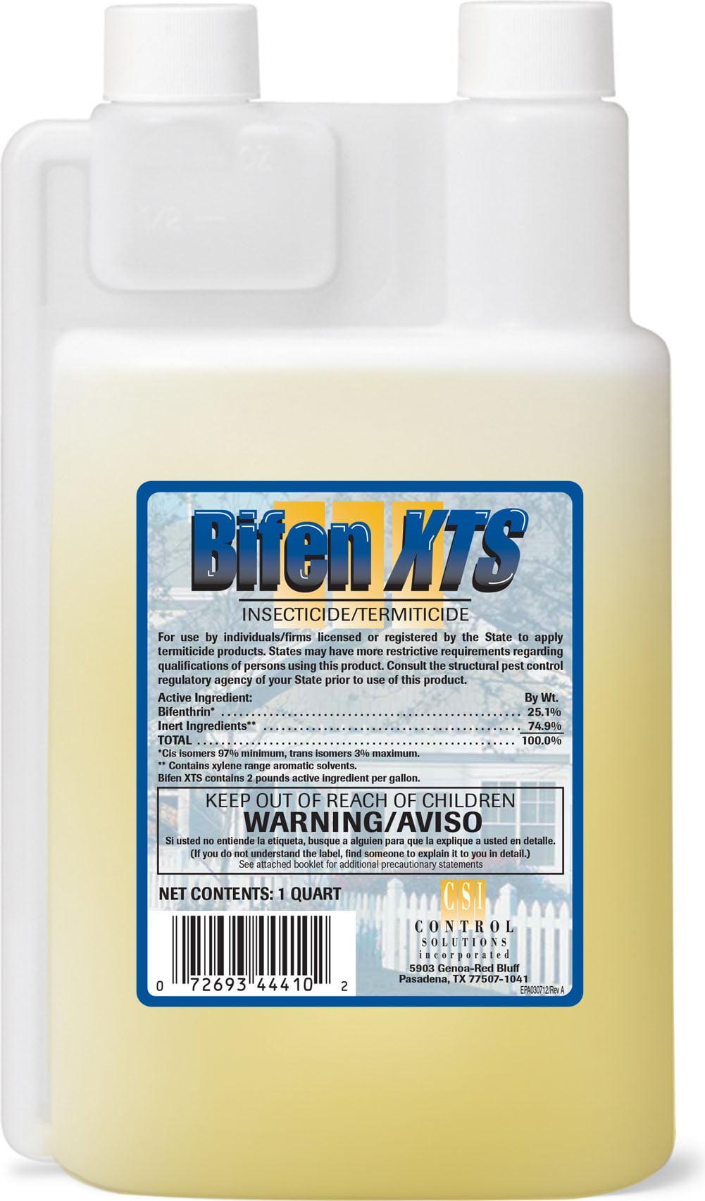 Bifen Xts Insecticide Termiticide 1 Quart 32 Oz By Control Solutions Inc Walmart Com Walmart Com