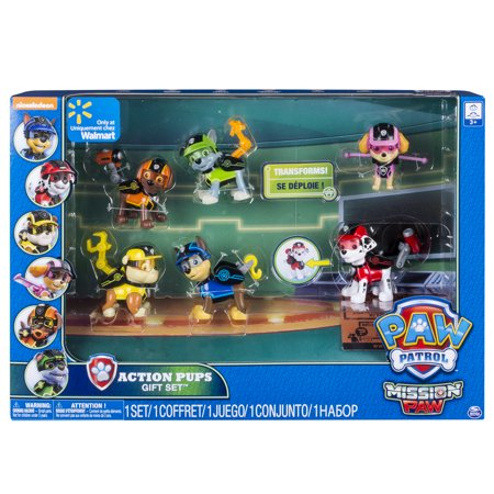 Paw Patrol Pup (Paw Patrol Mission Paw - Action Pack Pups Gift Set - Walmart)