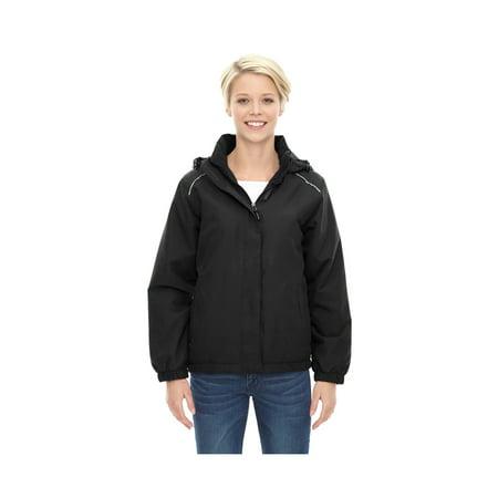 4e17297b8b5 Core 365 Brisk Women's Roll Away Hood Insulated Jacket, Style 78189
