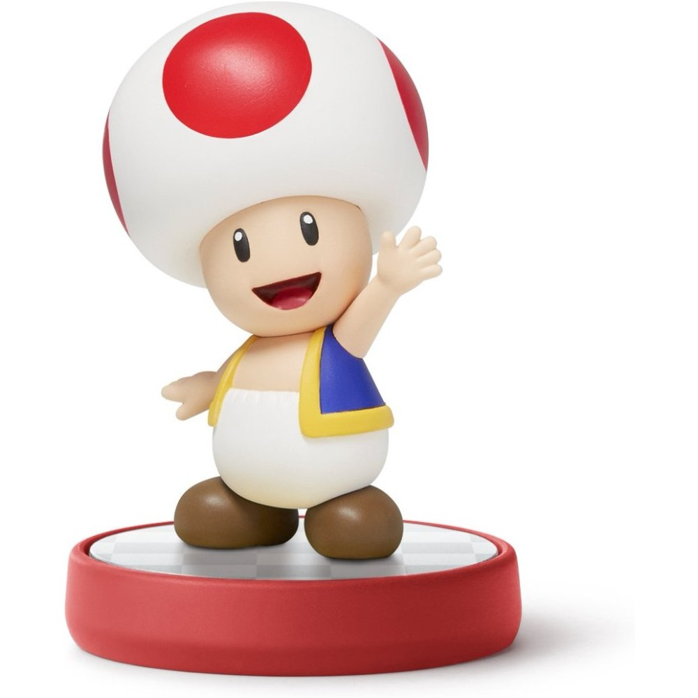 Toad Super Mario Series Nintendo Amiibo Nvlcabae Walmart Com