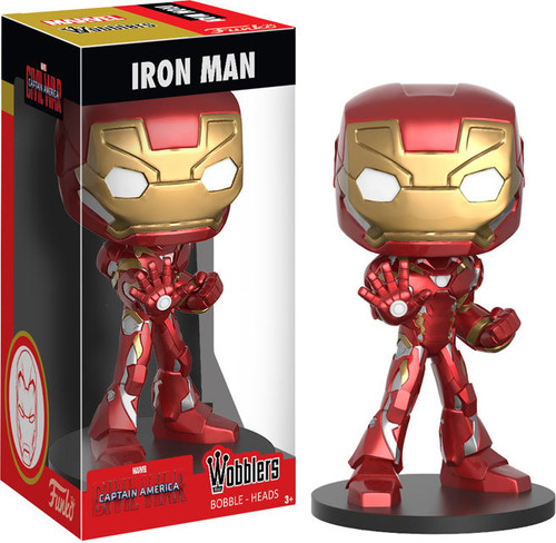 FUNKO WOBBLER: CAPTAIN AMERICA - IRON MAN