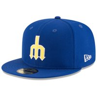 sports shoes c4e18 66163 Product Image Seattle Mariners New Era Cooperstown Inaugural Season 59FIFTY  Fitted Hat - Royal