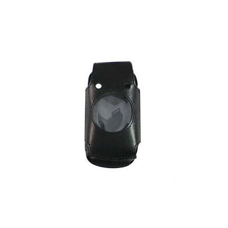 Verizon Housing - OEM Verizon Casio G'zone Ravine C751 Leather Fitted Case (Black)