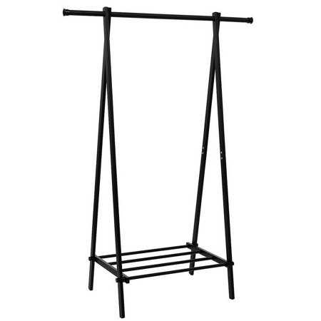 - UBesGoo Household Freestanding Closet, single Rod Heavy Duty Garment Rack Metal